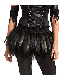 Black Feather Raven Tutu Belt