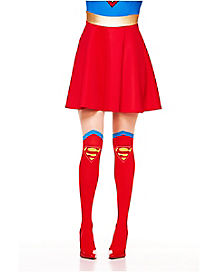 Supergirl Boot Tights - DC Comics
