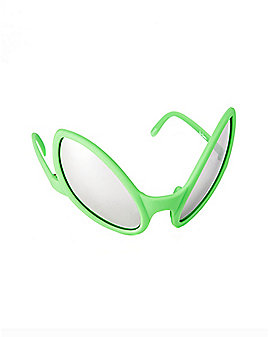 Green Alien Glasses