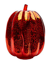 Large Glass Pumpkin - Decorations