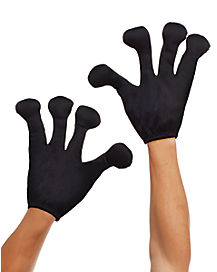 Black Alien Gloves