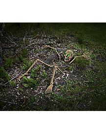 Light Up Skeletal Remains Groundbreaker - Decorations