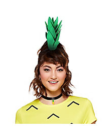 Pineapple Headband and Choker Necklace