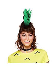 Pineapple Headband and Choker Necklace