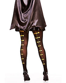 Batman Gold Backseam Tights - DC Comics
