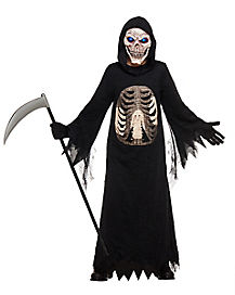 Kids Light-Up Reaper Costume