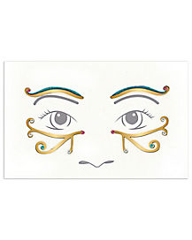 Kids Goddess Face Decal