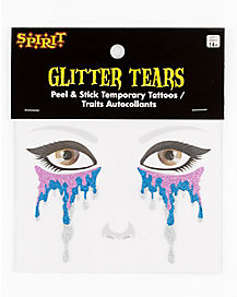 Purple Glitter Tears