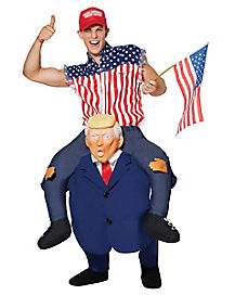 Adult Presidential Piggy Back Costume
