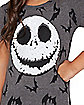 Kids Jack Skellington Sequin T Shirt - The Nightmare Before Christmas