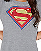 Kids Supergirl T Shirt - DC Comics