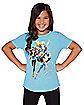 Kids DC Super Hero Girls T Shirt - DC Comics