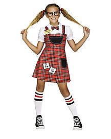 Schoolgirls & Nerds Kids Halloween Costumes