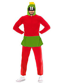 Adult Marvin the Martian Pajama Costume - Looney Tunes