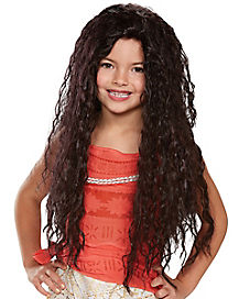 Kids Moana Wig - Disney