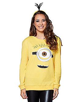Minion Face Sweater - Despicable Me