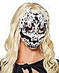 White Lace Skull Mask