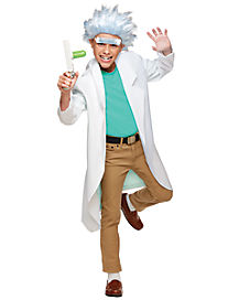 Teen Rick Costume - Rick and Morty