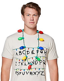 Christmas Light Up Necklace - Stranger Things