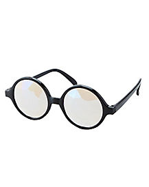 Black Frame Kaleidoscope Glasses