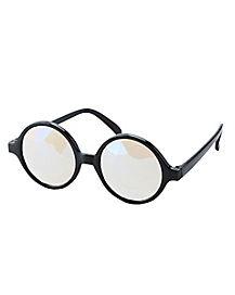 Black Frame Kaleidoscope Glasses