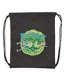 Rick and Morty Cinch Bag