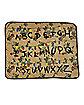 Alphabet Fleece Blanket - Stranger Things