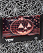 Pumpkin Light Up Candy Bag