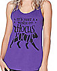 Black Cat Tank Top - Hocus Pocus