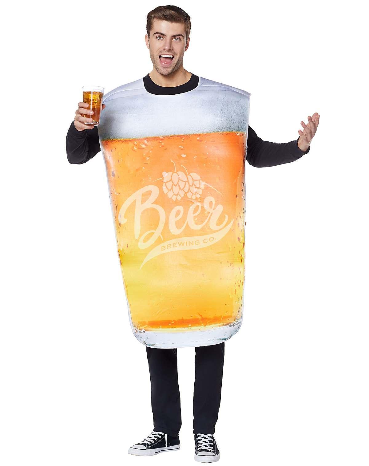 Oktoberfest pint glass costume