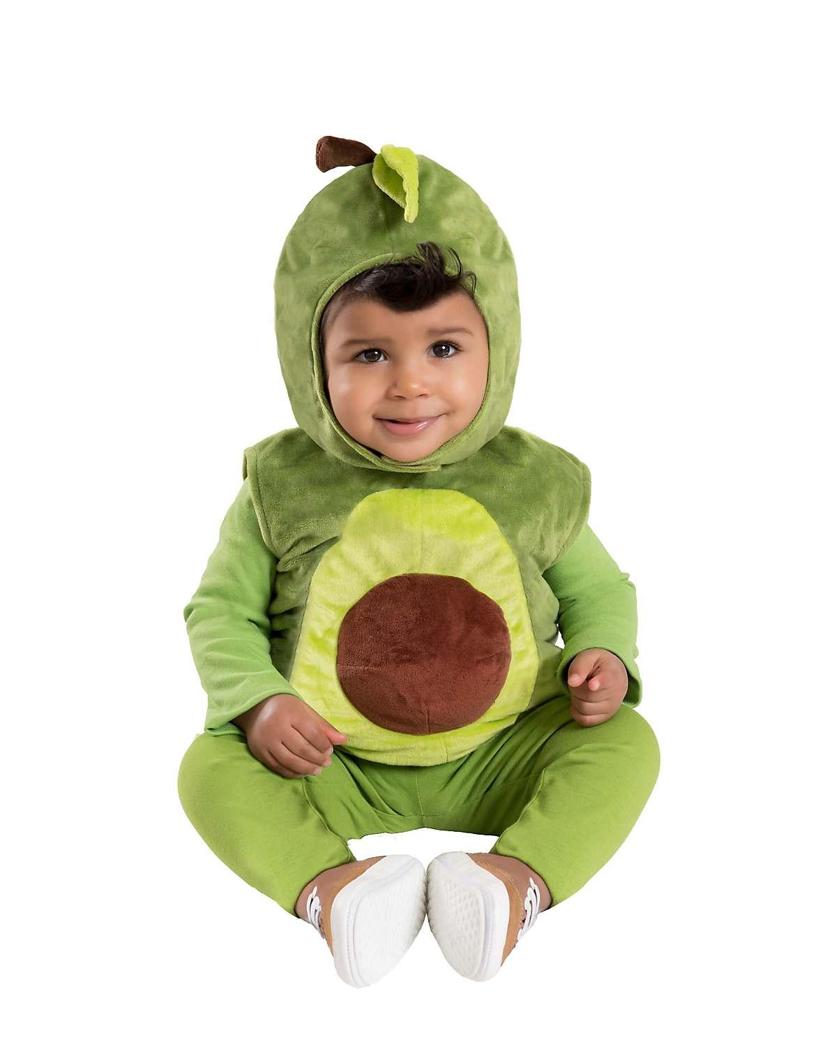 Baby plush avocado costume