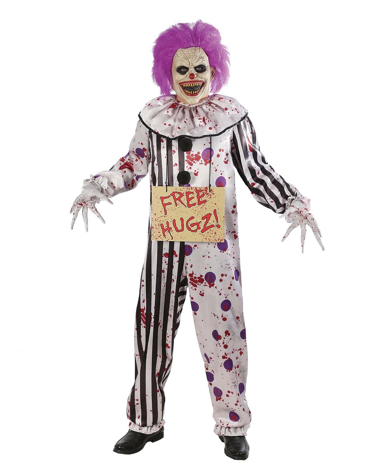 Adult Hugz the Clown costume