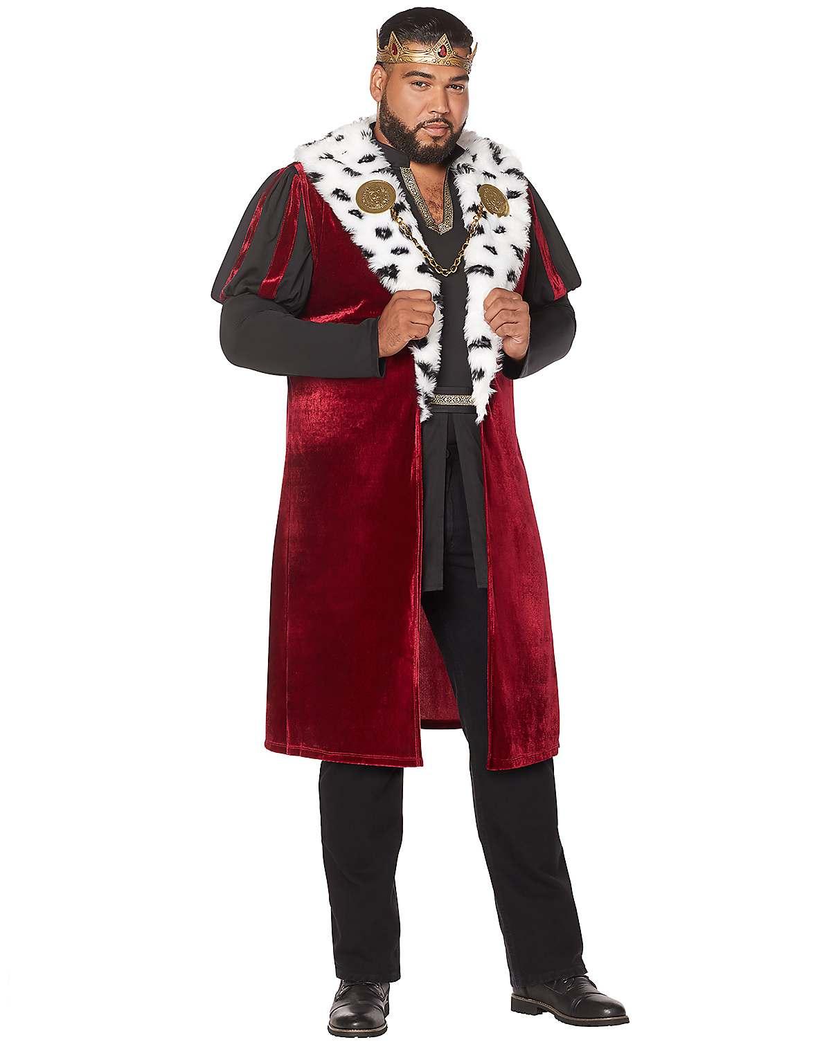 Noble King plus size costume