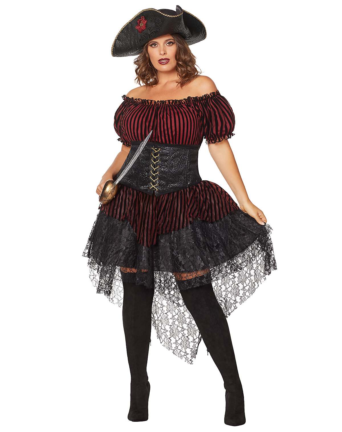 Lady of the Seas plus size costume