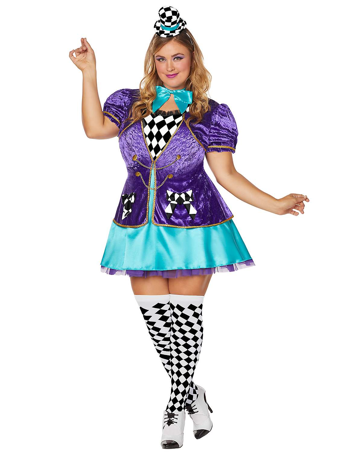 Mad Hatter plus size costume