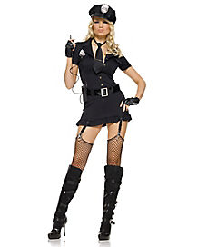 Adult Miss Sexy Police Officer Costume