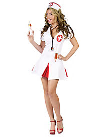 Say Ahhh Nurse Adult Womens Costume