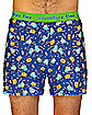 Adventure Time Print Men's Boxers