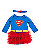 Supergirl Infant Tutu Set