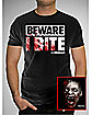 Beware I Bite The Walking Dead  T shirt
