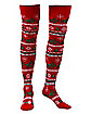 Lovin' Reindeer Thigh High Socks