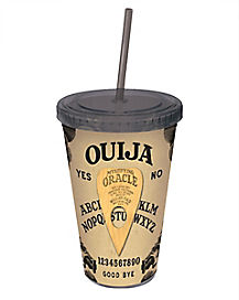 Ouija Board Cup with Straw 16 oz