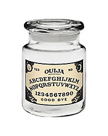 Ouija Board Storage Jar - 6 oz Glass