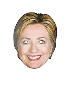 Hillary Clinton Paper Mask