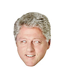 Bill Clinton Paper Mask