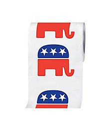 Republican Elephant Toilet Paper