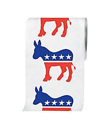 Democrat Donkey Toilet Paper