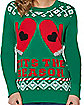 Tits The Season Ugly Christmas Sweater