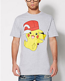 Pikachu Hat Pokemon T Shirt