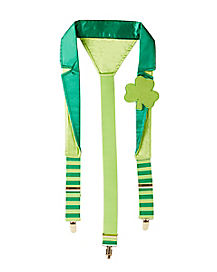 St. Patrick's Day Deluxe Suspenders